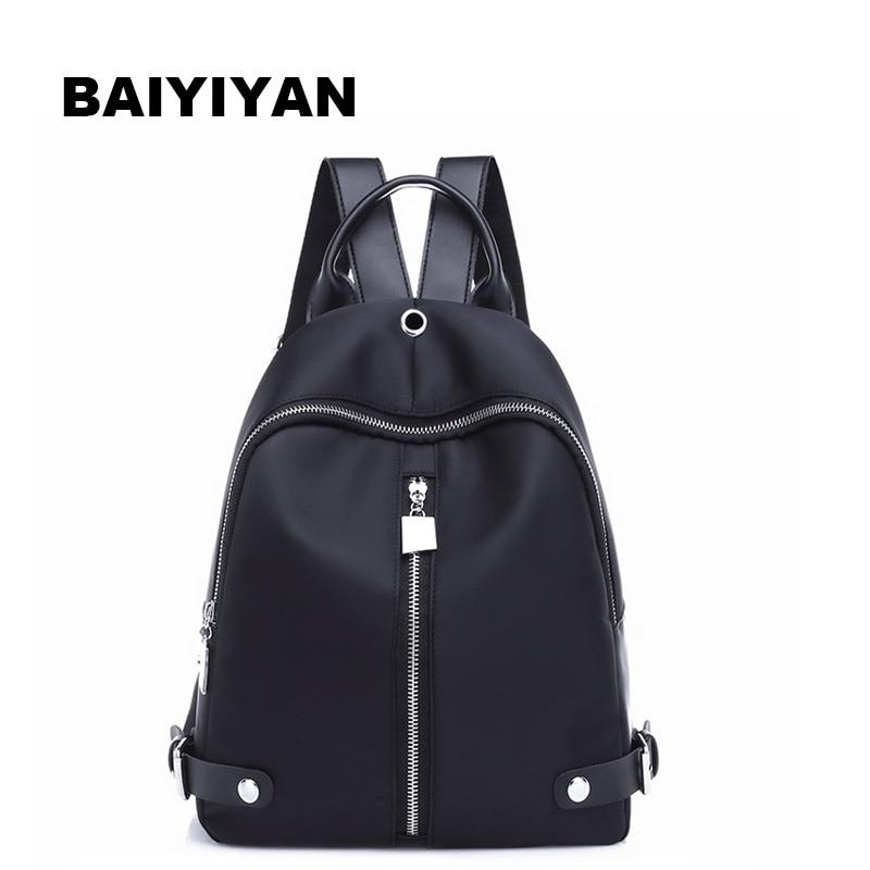 New Brand Women Backpack Waterproof nylon School Bags Students Backpack Women Travel Bags Shoulder Bag for