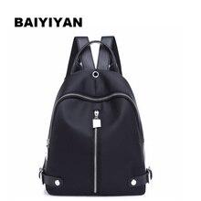 Новый бренд Для женщин рюкзак Водонепроницаемый нейлон Школьные сумки студенты рюкзак Для женщин Дорожные сумки Сумка для подростка Обувь для девочек