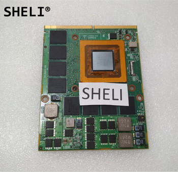 SHELI 2TKKD 2YVP1 02YVP1 CN-02YVP1 For Dell Alien-ware M17x R2 HD 4870 4870M Video Card 1G with Heatsink
