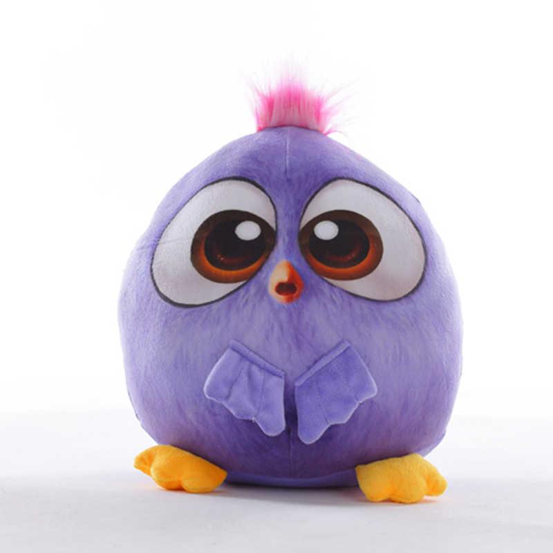 חמוד צבעוני ציפור בפלאש צעצוע קריקטורה בעלי החיים בובת תוכי נוצת צעצועים ממולא כותנה בובות לילדים עיניים גדולות לילדים לחיות מחמד מתנה