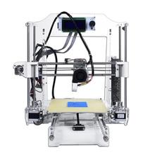 Impresora de escritorio 3d impresora RepRap Prusa i3 kit de Impresora 3d CNC 3d con ensamble vídeo detallada 1 Roll envío filamentos 8G SD tarjeta