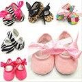 Для 0-18 Месяцев Весна Осень Цветок Мягкой Подошвой Девушка Обувь Горошек Впервые Ходунки Baby дети младенческой Малыша обувь BS01