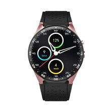 KW88 3กรัมWIFIซิมการ์ดดูสมาร์ทAndroid5.15 S Mart W Atchธุรกิจผู้ชายสไตล์นาฬิกาข้อมือที่มีการตรวจสอบอัตราการเต้นหัวใจ2.0MPกล้อง
