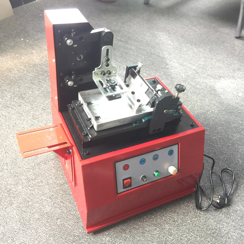 Tabletop Electric Pad Printing Machine With Open Ink Type