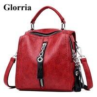 Glorria Роскошные из коровьей кожи сумки для женщин модельер плеча Crossbody сумка для многофункциональная сумка большая Sac