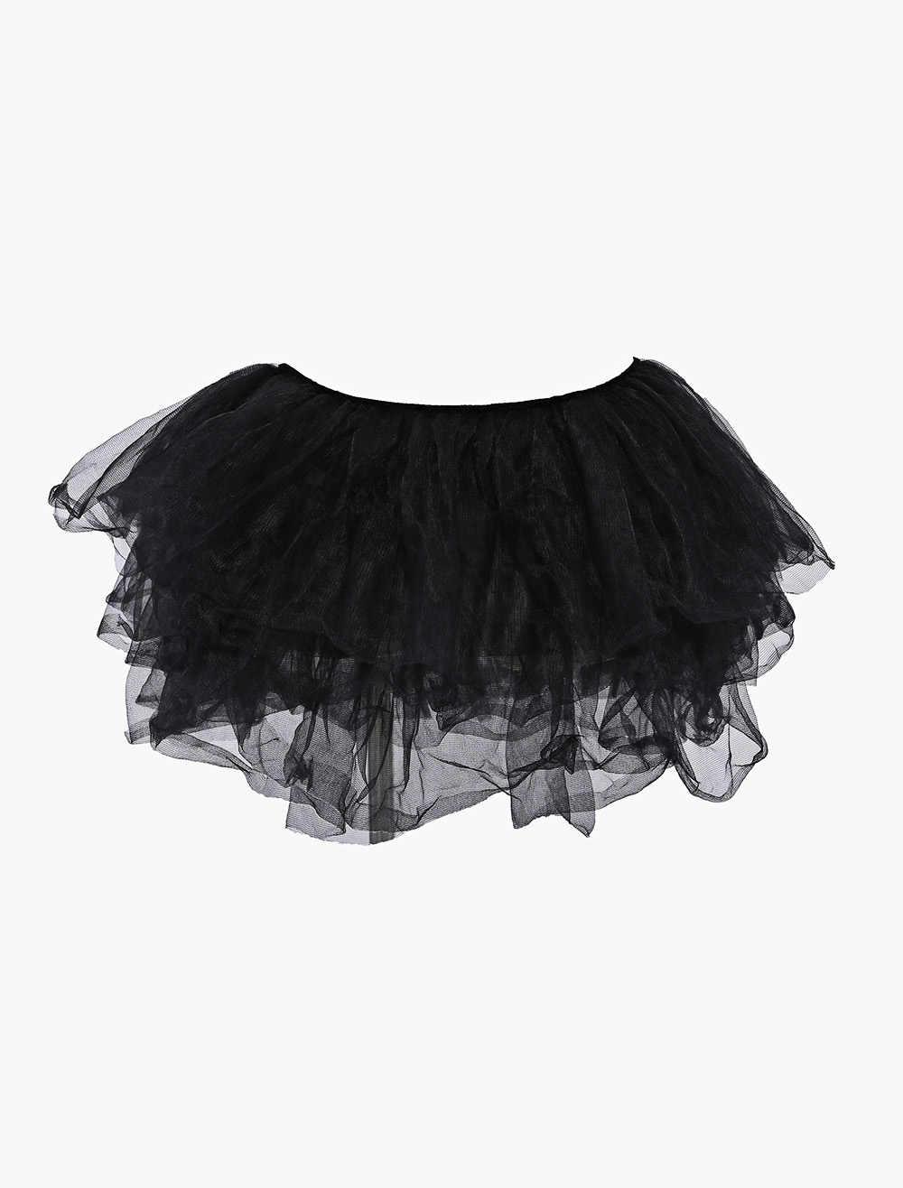 70bcee67b ... MOONIGHT Sexy Petticoat Satin Mini Tutu Skirt Ball Gown Ruffle Frilly  Corset Skirts