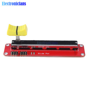 Slide Potentiometer 10K Linear Module Dual Output for Arduino AVR Electronic Block(China)