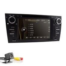 Capacitivo Dello Schermo di Tocco di Lettore DVD Dell'automobile Per BMW E90 E91 E92 E93 3 Serie Radio Video iPone 5 6 GPS sistema di navigazione BT SWC DAB +