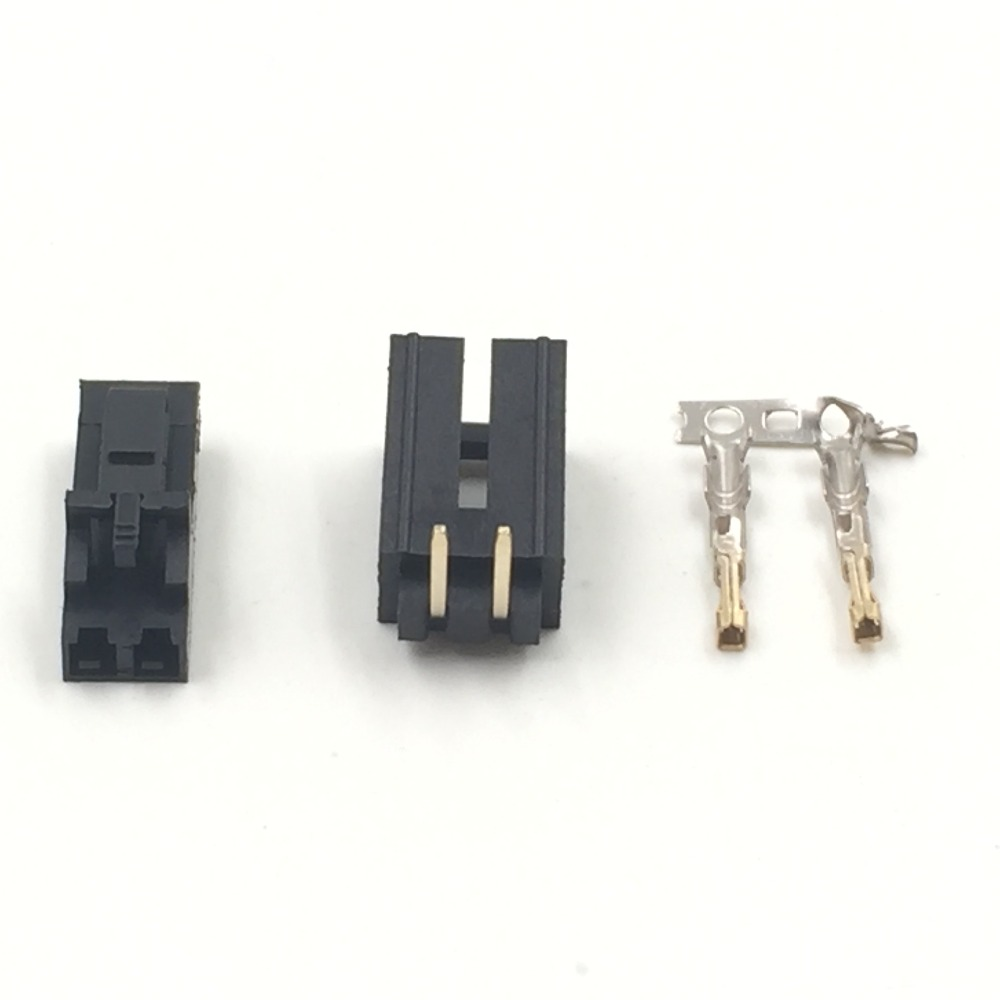 20 sets 2520 Molex 2.54mm 2-Pin Male Female W/. LOCK Connector and Crimps jst ph 2 0 2 pin connector plug male and female with crimps x 20 sets