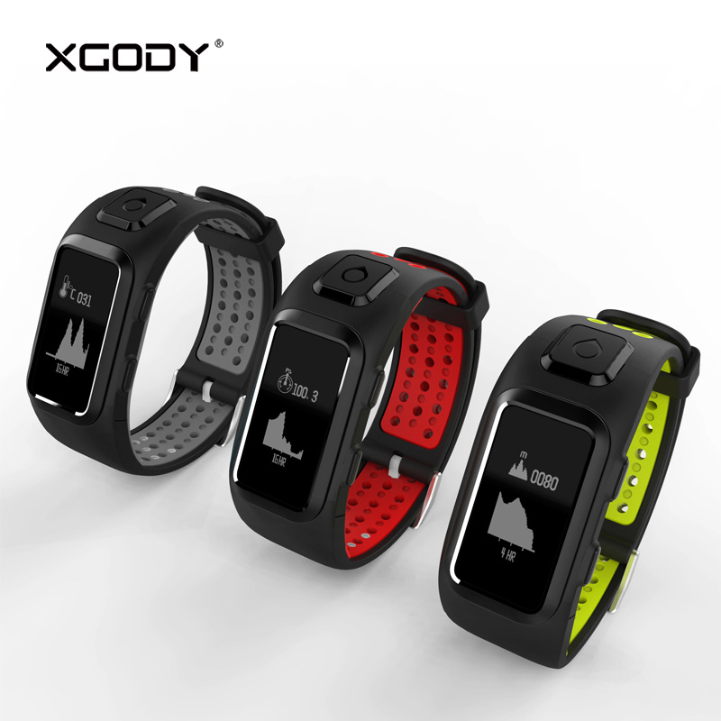 In Stock XGODY DB10 Sports Bracelet Fitness Tracker for iOS Android Pedometer Heart Rate Monitor Smart Band Wristband Waterproof ...
