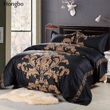ФОТО hongbo 3 pcs/set european style flower printing bedding sets queen bedclothes bed linen duvet cover set(no sheet no filling)