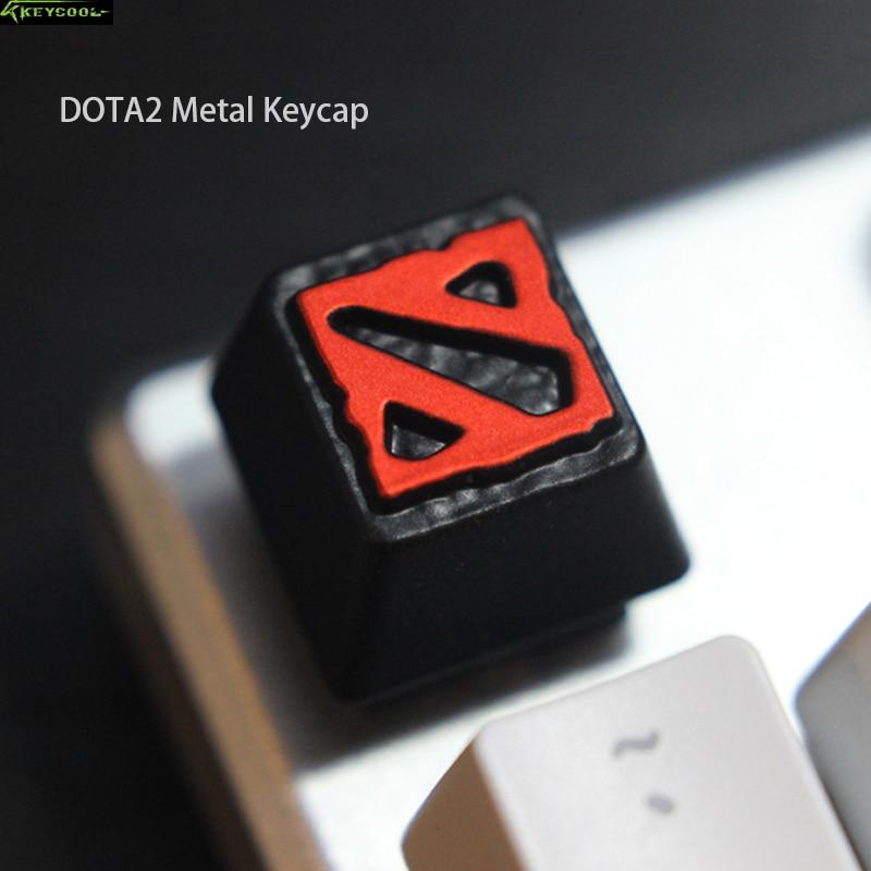 Mechanical Keyboard Metal Keycap Zinc Aluminum Cap Button Tribe Customization Keycaps For Warcraft Blizzard Game And DOTA2
