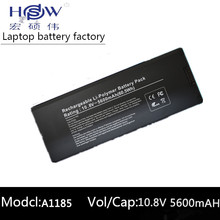 black Battery for Apple MacBook 13 A1185 A1181 MA561 MA561FE/A MA561G/A MA254 MA255CH/A MA699B/A MB061X/A 60wh