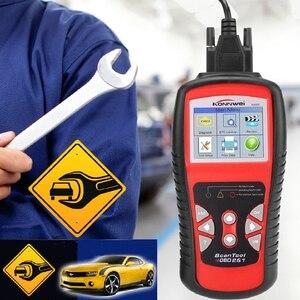 Image 3 - KONNWEI KW830 OBD2 ODB2 Automotive Scanner for Car Diagnosis Universal Auto Fault Error Code Reader ODB2 Car Diagnostic Scanner