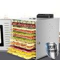 Коммерческая 12-слойная сушильная машина для фруктов UCK для пищевых продуктов и овощей  осушитель растворимых бобов  сушильная машина для су...