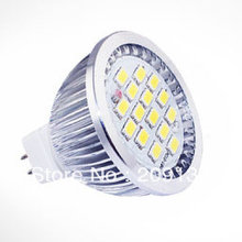 7W MR16 LED Spotlight Bulbs wide degree SMD 5630 15leds CE & RoHS 2 Years Warranty
