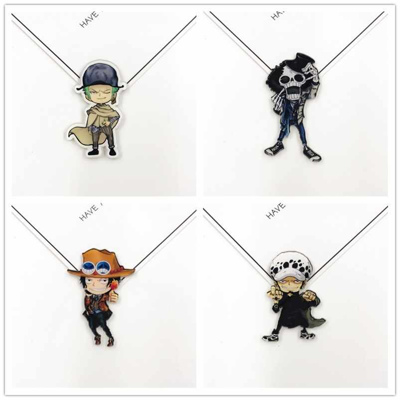 Cartoon Anime ONE PIECE badge icone su zaini distintivo acrilico kawaii pins per Le Donne accessori dei vestiti della decorazione