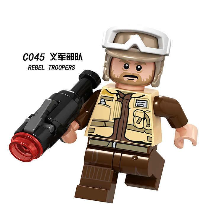 מלחמת הכוכבים רבל פיילוט/Rebel שוטרי DIY צעצוע איור אבני בניין לבני דמות תואם עם בלה