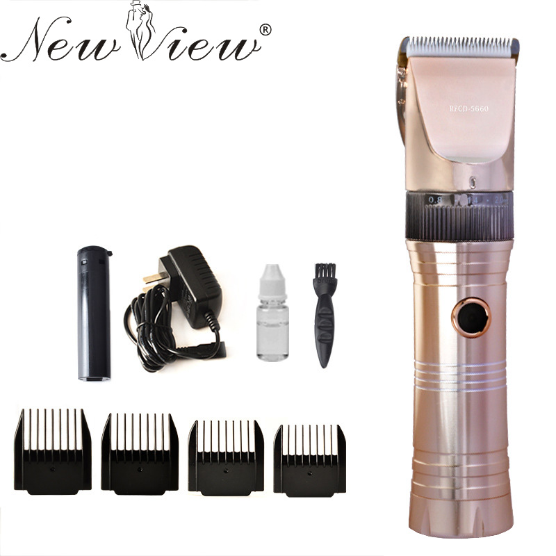 все цены на NewView Electric Hair Clipper Rechargeable Hair Trimmer Professional Haircut Machine Hairclipper For Barber Salon Hairdressing