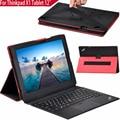 New chegou couro flip case capa para lenovo thinkpad x1 Tablet 12 polegada Tablet Ímã Flip Tampa Do Suporte + tela protetor