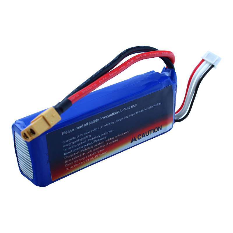Free shipping 2pcs <font><b>Battery</b></font> <font><b>11.1V</b></font> <font><b>2700mAh</b></font> For CX-20 V303 V393 WL913 RC boats spare Parts image