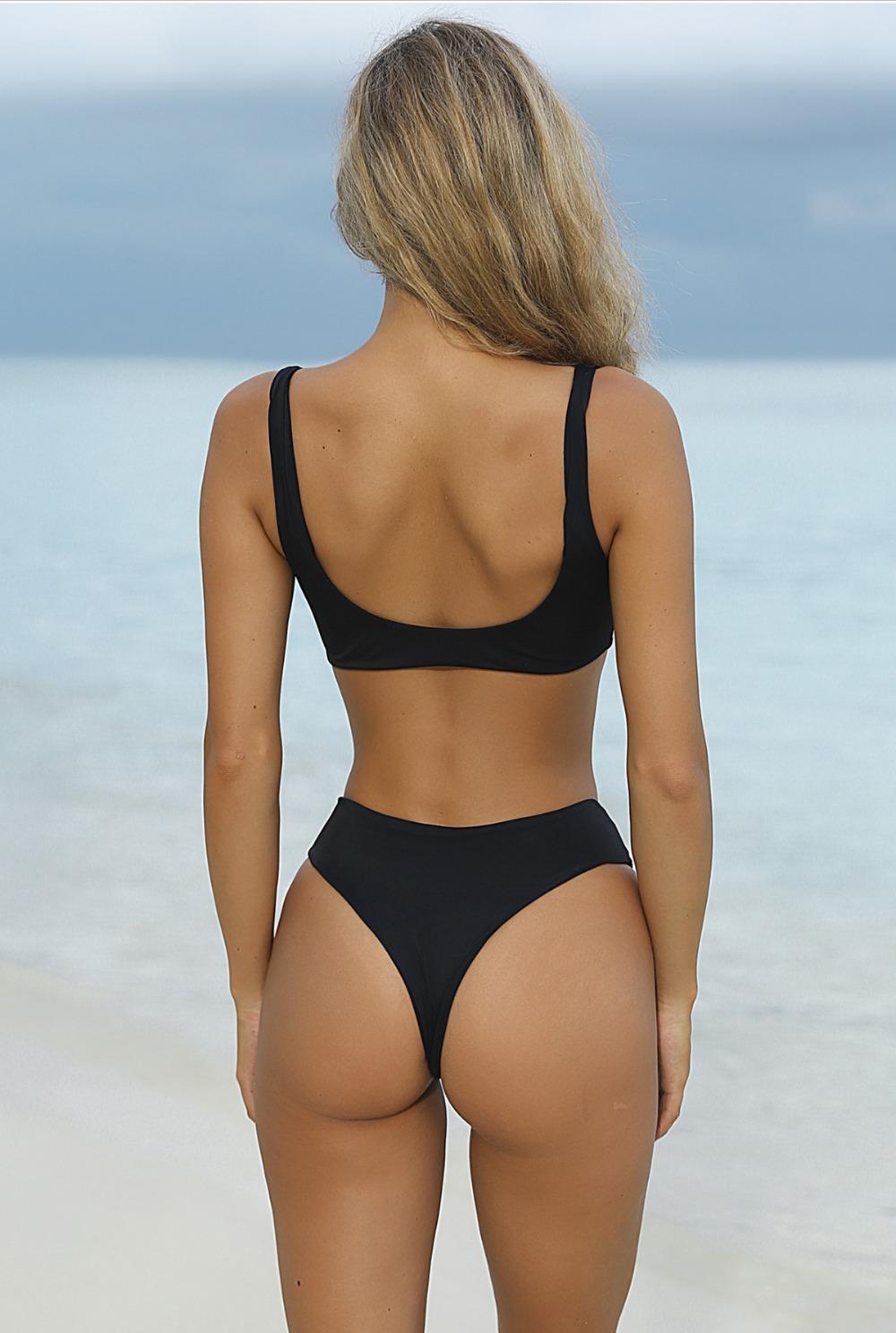 HTB1X6W7RVXXXXbwXFXXq6xXFXXXX - Summer sexy Beach Bikini Double wrapped chest Women Beach swimsuit Underwear Bra sets JKP388