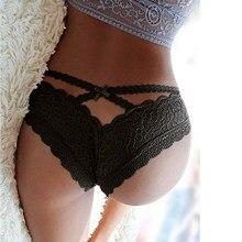 Cintura alta renda underwear voltar oco para fora sexy calcinha feminina confortável macio culotte femme plus size feminino sexy tangas pw5172