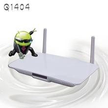 Q1404 Quad Core Android 1G RAM 8G ROM Caja IPTV Inteligente Set Top Full HD 1080 P Soporte DLNA 3D Construir En Wifi