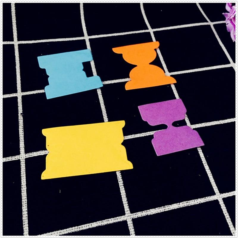 4 шт./лот Воронка узор металлический трафарет трафареты для DIY Скрапбукинг штамп Рождество поздравительные открытки Декор тиснение Craft