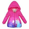 Meninas Casaco de Inverno Para Baixo Casacos Com Capuz Snowsuit Crianças Outwears Crianças De Pele Crianças Princesa Cinderela Menina Roupa Do Natal Parque