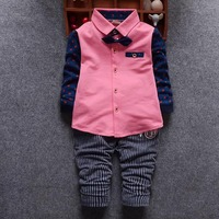 2016 Sale Kids Clothes Boys Clothing Sets Spring Autumn Toddler Boy Clothes Sets Baby Boys Wedding