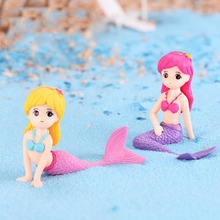 1 Pcs Kawaii Mermaid Princess Garden Fantasy Figurine Art Wo