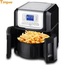 Free shipping The third generation of the whole intelligent large capacity without oil Electric Deep Fryers Electric fryer