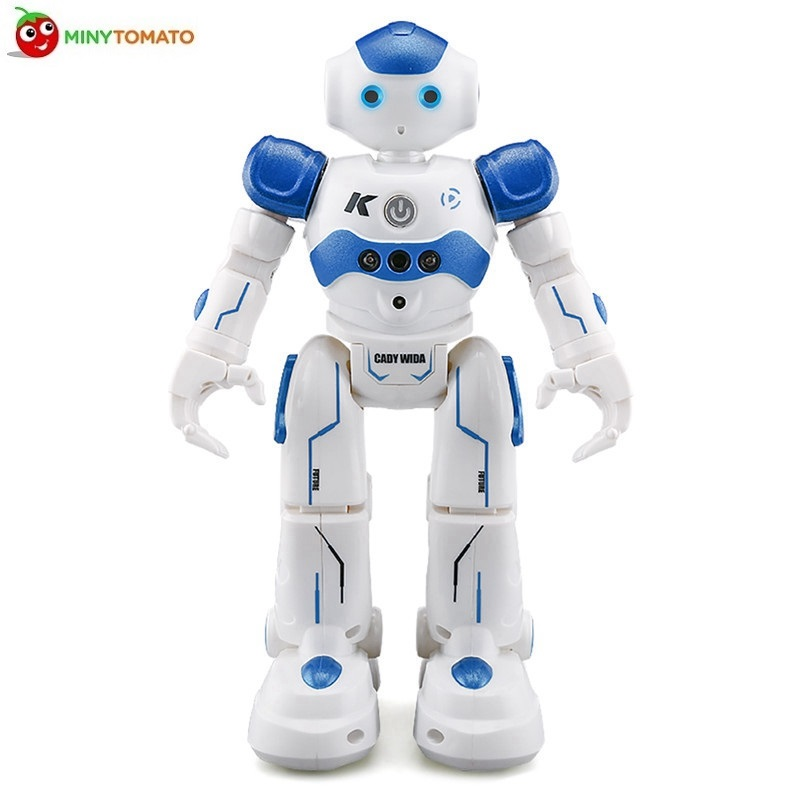 High Quality JJRC R2 USB Charging Dancing Gesture Control Intelligent RC Robot Toy for Children Kids Birthday Gift Present jjrc r1 dancing gesture control rc robot usb charging blue pink intelligent action figure robot toys for children birthday gift