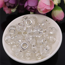 20pcs Color Cut Faceted Big Hole Glass Beads for Jewelry Making Spacer fit Pandora Charms Silver 925 Original Bracelet Necklace 10pcs hot cut faceted color crystal glass beads fit european bracelet spacer original pandora charm bracelet for jewelry making