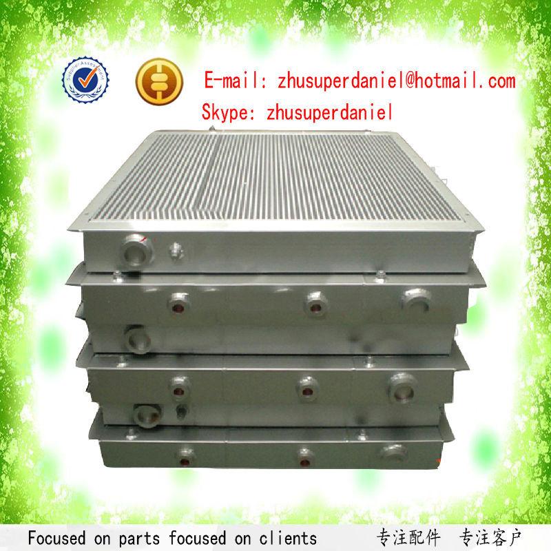 WJIER Bolaite black aluminum plate fin air cooler 1625165971 for BLT100A Screw Air Compressor wjier black aluminum plate fin combined air cooler 1622319100 for ga37 75 screw air compressor
