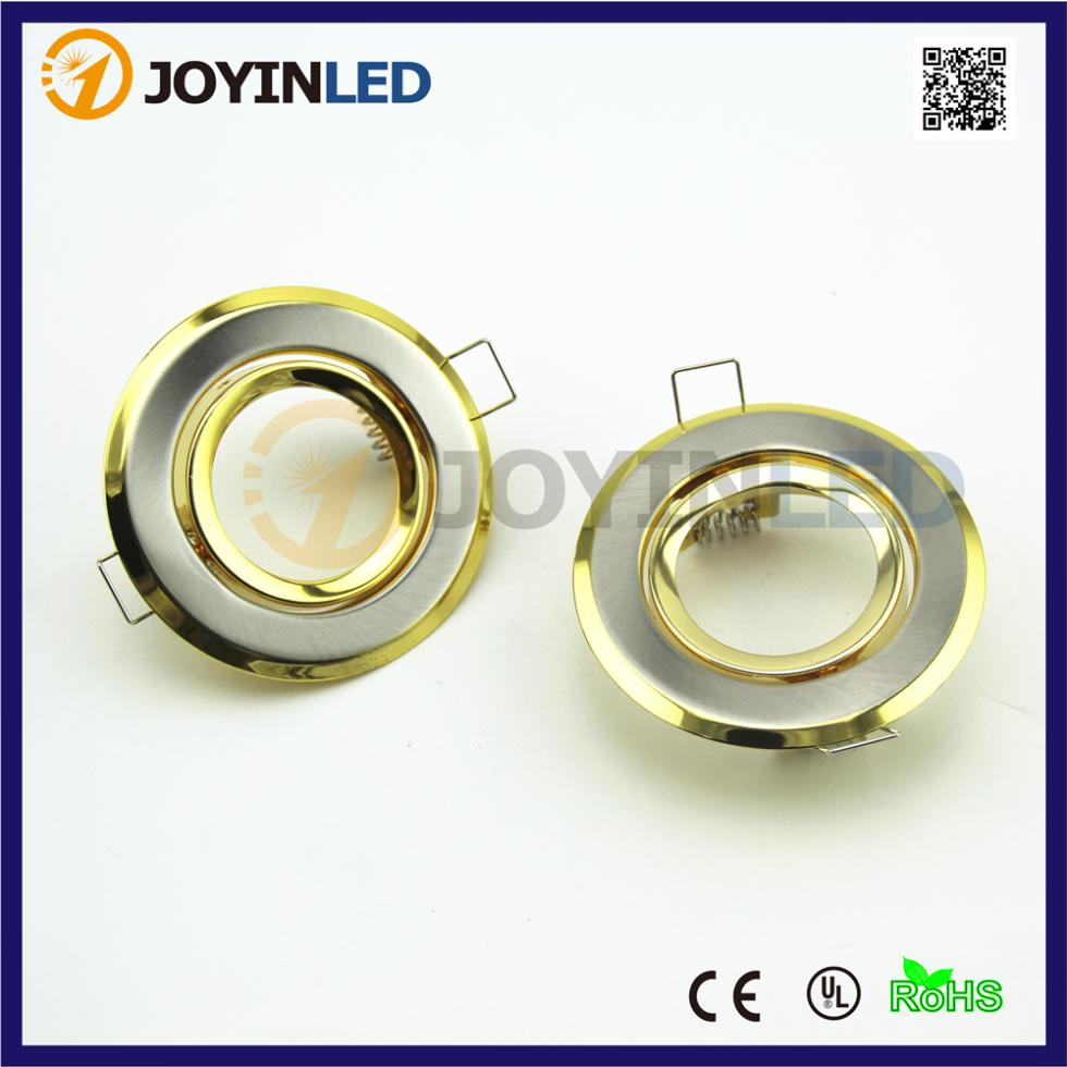 Gu10 Led Ceiling Light Fixture: Indoor Flat LED Ceiling Down Light Lamps Holder GU10/MR16