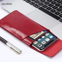 SZLHRSD dla UMIDIGI S2 Pro super szczupła z długim rękawem pokrowiec na telefon, z mikrofibry ściegu przypadku dla UMIDIGI S2 torba na telefon