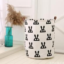 Nordic Style Canvas Storage Bag For Toys Clothes Kids Room Organizer Bag Pouch Canvas Storage Pouch Stand Bag For Kids 40x50CM