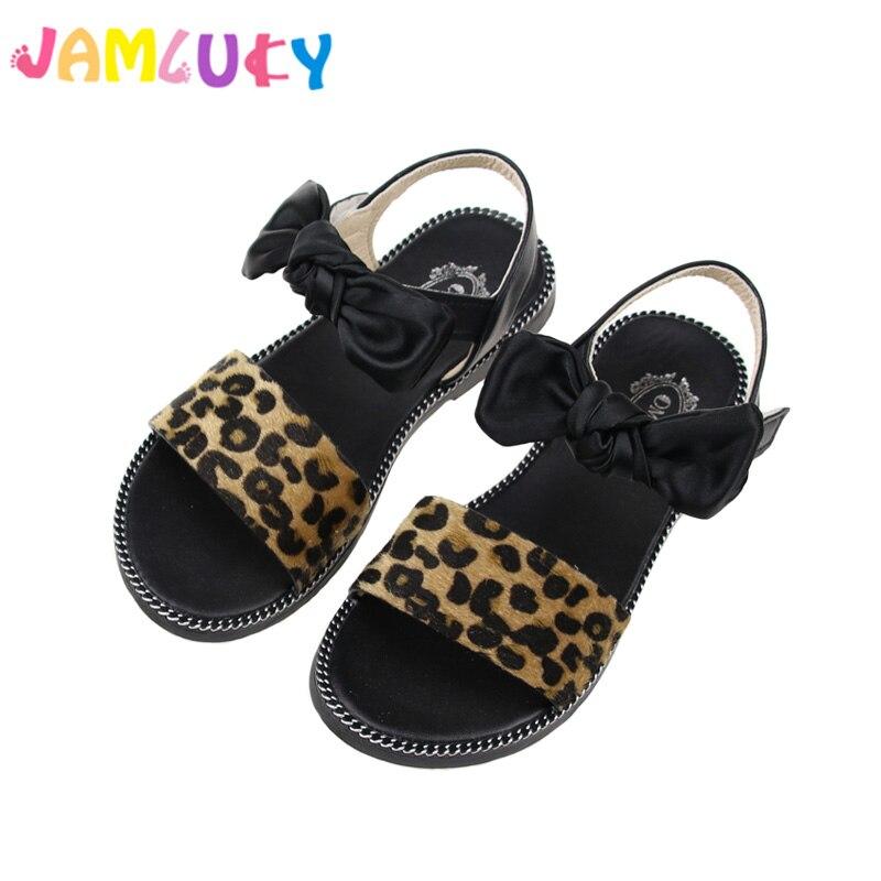 Niños Sandalias de verano Chica Princesa Zapatos Verano 2018 Nueva - Zapatos de niños