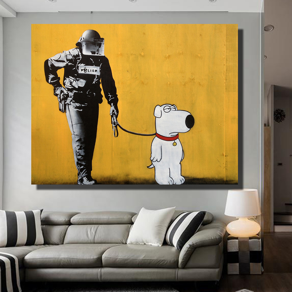 Fancy Pop Art Wall Mural Motif - Wall Art Collections ...