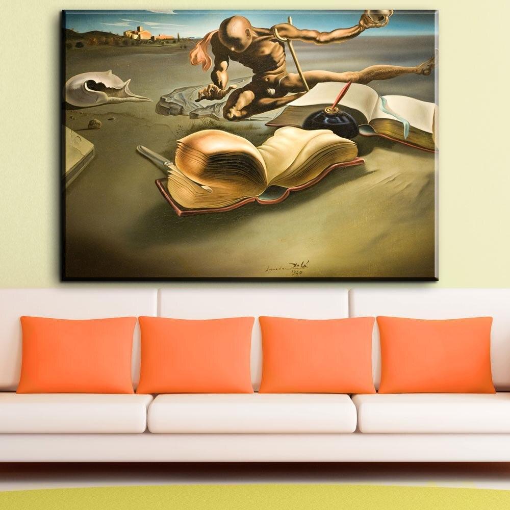 wohnzimmer wand poster : Online Shop Zz1849 Salvador Dali Surrealismus Abstrakte Lgem Lde
