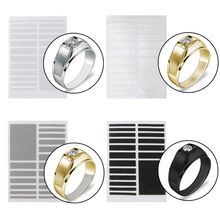 Invisible Ring Size Adjuster for Loose Rings 6 Sizes Jewelry Guard Spacer Fitter