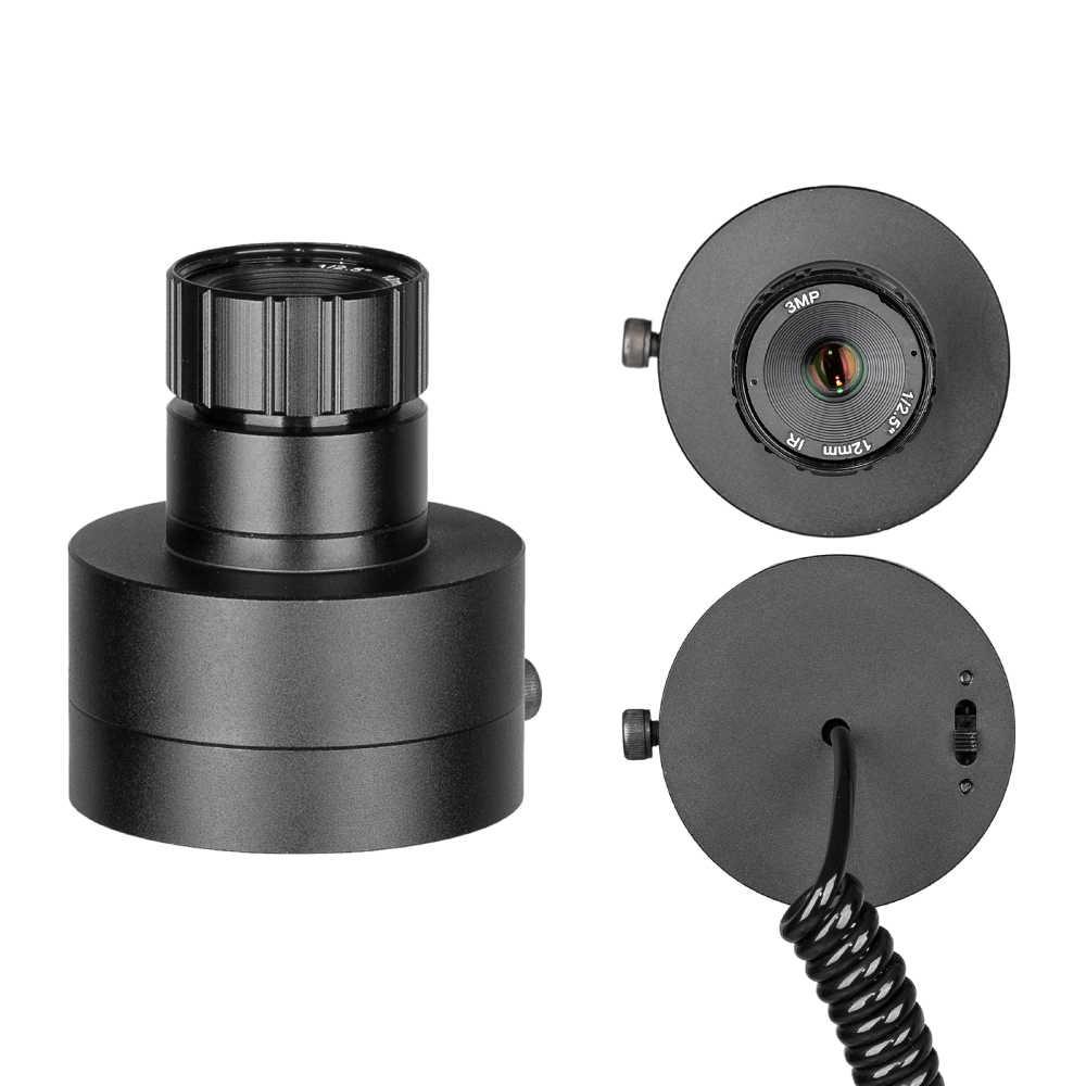 Mira telescópica de visión nocturna visión óptica visión táctica 850nm infrarrojo LED IR dispositivo de visión nocturna impermeable cámara de caza