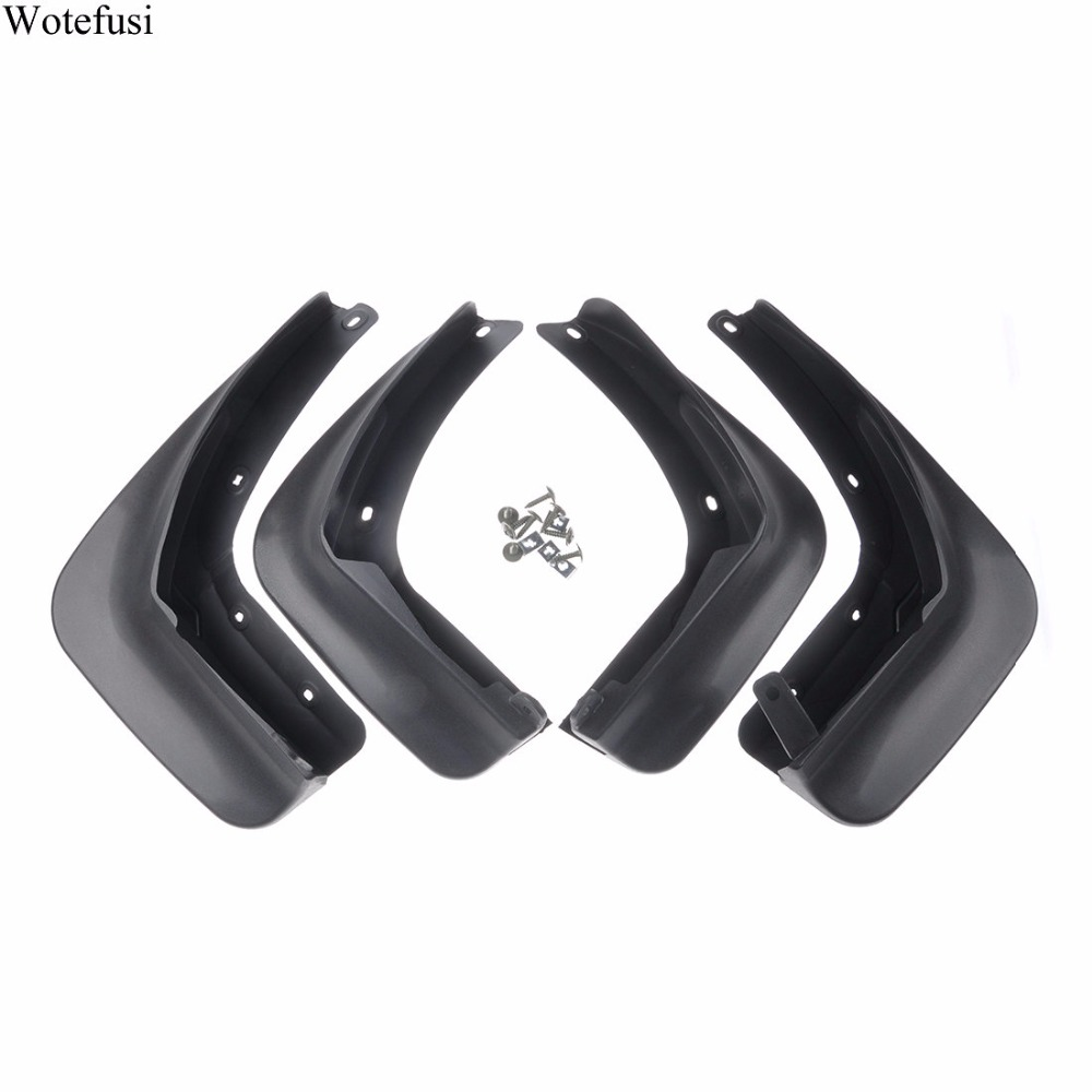Wotefusi Front Rear Splash Guards Mud Flaps Mudguards For Volkswagen Beetle 2013-2016 2014 2015 [QPA254]