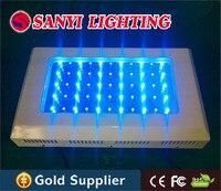 White blue 165w led aquarium lights 55pcsx3w chinese led aquarium lights with Two switch