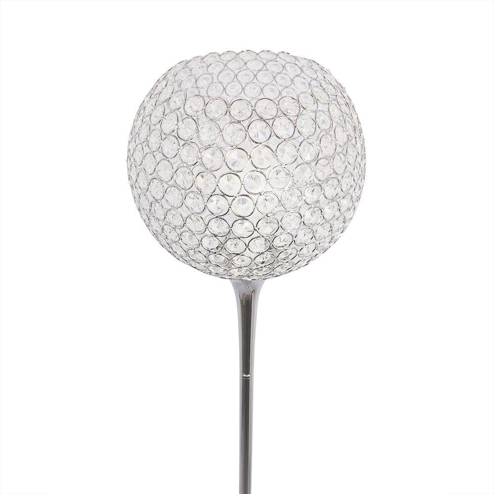 Image 3 - Floor Lamp crystal floor lamp Modern Floor Light LED E27 torso lighting 1.6m high Living room bedroom study decoration light-in Floor Lamps from Lights & Lighting