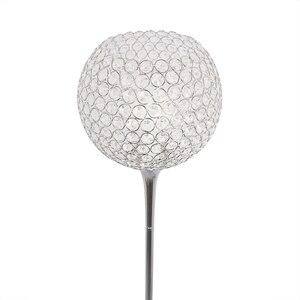 Image 3 - Floor Lamp crystal floor lamp Modern Floor Light LED E27 torso lighting 1.6m high Living room bedroom study decoration light