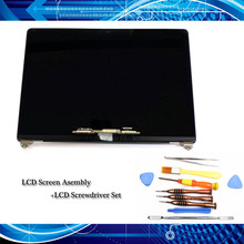 "Original novo display lcd conjunto + chave de fenda para macbook pro retina 15.4 ""a1707 lcd led tela cinza/prata emc 3072 2016"
