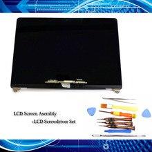 "Orijinal yeni LCD ekran meclisi + tornavida seti Macbook Pro Retina 15.4 için ""A1707 LCD LED ekran gri/gümüş EMC 3072 2016"